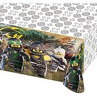 Tischdecke * Lego - Ninjago Movie * für Kindergeburtstag und Mottoparty   Kinder Geburtstag Party Plastic Table Cover Ninja