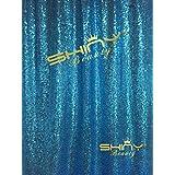 ShinyBeauty 10ftx20ft Pailletten - Hintergrund Vorhang blaue, Photo Booth Fotografie, Pailletten - Hintergrund Stoff f¨¹r die Hochzeit