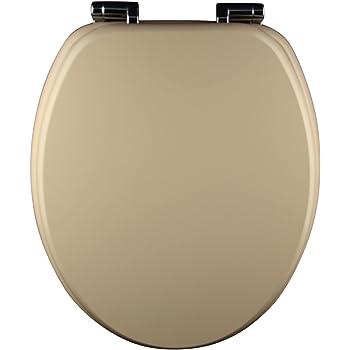eisl wc sitz spirit holzkern mit absenkautomatik beige ed09570sc baumarkt. Black Bedroom Furniture Sets. Home Design Ideas