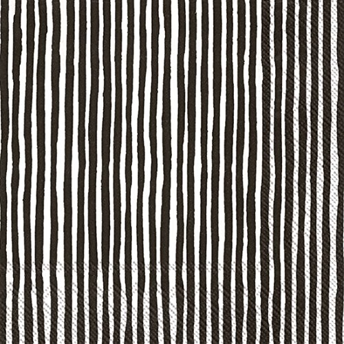 marimekko-lunch-napkins-varvunr-aita-33x-33cm-white-black