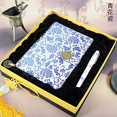 GPC Nanjing Yunjin Notebook China Wind Übersee Geschenke Laowai Yunjin Volkskunst & Kunsthandwerk Geschenke,Yunjin Notizbuc (Geschenk Volkskunst)