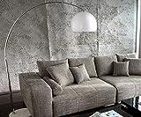 Lampe Big-Deal Lounge Weiss höhenverstellbar Marmor Bogenleuchte