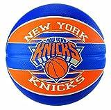 Spalding NBA Team Ny Knicks Ball Basketball, blau/Orange, 7