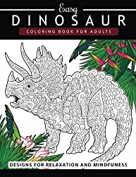 Dinosaur Coloring book for Adults and Kids: Coloring Book For Grown-Ups Dinosaur Coloring Pages