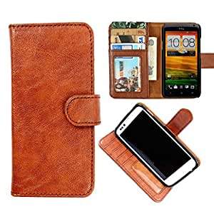 DooDa PU Leather Wallet Flip Case Cover With Card & ID Slots & Magnetic Closure For Nokia X2 Dual Sim