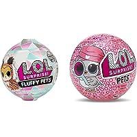 L.O.L. Surprise! - Fluffy Pets - Asst. en présentoir 16pcs & Pets-Modèles aléatoires, LLU32, Multicouleur