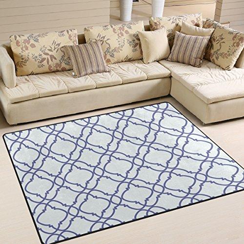 Marokkanische Schlafzimmer Dekor (ingbags Super Weich Moderner Marokkanische, ein Wohnzimmer Teppiche Teppich Schlafzimmer Teppich für Kinder Play massiv Home Decorator Boden Teppich und Teppiche 160x 121,9cm, multi, 80 x 58 Inch)
