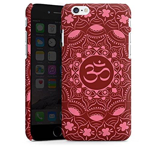 Apple iPhone SE Housse Outdoor Étui militaire Coque Mandala Été Rouge Cas Premium mat