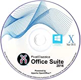 Office Suite 2016 Home Student Professional Powered by Apache OpenOfficeTM for PC Microsoft Windows 10 8.1 8 7 Vista XP 32 64 Bit & Mac OS X