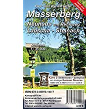 Masserberg - Neuhaus am Rennweg - Lauscha - Steinach: Rad- und Wanderkarte (wetterfest)
