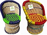 #1: Ecowoodies HandiCraft Cane Furniture Set