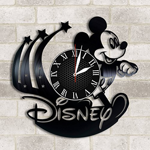 Olha Art Design Walt Disney Vinyluhr Walt Disney Dekor Walt Disney World Walt Disney Walt Disney Mickey Mouse Walt Disney Fan Geschenk Walt Womans Day -