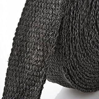 20m Keramik Hitzeschutzband schwarz ( Breite: 50mm )