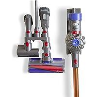 Lorenlli Equipement de Stockage Etagère Accessoires pour Dyson V7 V8 V10 Absolute Brush Tool Embout de buse Support de Base Aspirateur Pièces