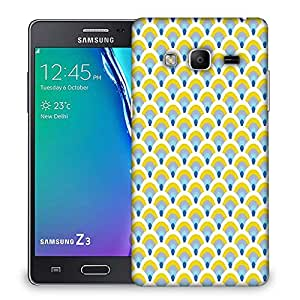 Snoogg Abstract Yellow Pattern Designer Protective Phone Back Case Cover For Samsung Galaxy Tizen T3