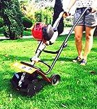 Gowe Professional Heavy Duty Garten Werkzeug 1.3hp Benzin 4Takt Gartenfräse Kultivator Garten Mini Benzin Kultivator