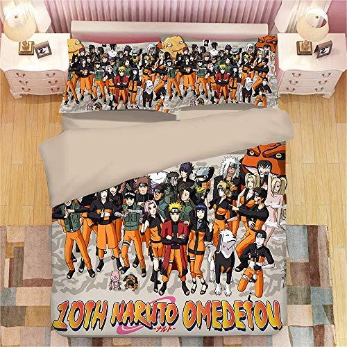 CXDM Tröster bettwäsche Set 100% Baumwolle Eisen Mann Schlafzimmer dekor Junge Geschenk bettlaken 3 stücke bettbezug,Twin - Männer Bettbezug Twin