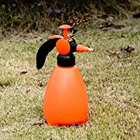 BYZ Garden Watering Cans Orange Environmental Protection Plastic Household Watering Kettle Gardening Sprayer Office Spray Bottle,1.5L,