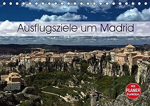 Ausflugziele um Madrid (Tischkalender 2018 DIN A5 quer): Meine Impressionen aus der Umgebung von Madrid (Geburtstagskalender, 14 Seiten ) (CALVENDO ... 01, 2017] Schön, Andreas und Berlin,