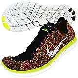 Nike Free RN Flyknit OC, Zapatillas de Running Hombre, Negro (Negro (Multi-Color/Multi-Color), 41 EU