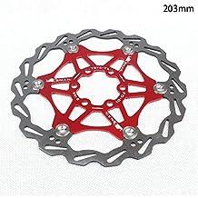 Wovemster Freno de disco de bicicleta MTB, disco flotante de bicicleta de montaña, 203