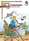 Die schönsten Volks- & Kinderlieder, Notenausg. m. Play-Along-CDs, Für Altblockflöte, m. Audio-CD (Spiel und Spaß mit der Blockflöte)