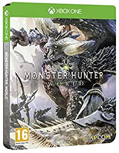 Monster Hunter World Steel Book Edition (Exclusive to Amazon.co.uk) (Xbox One)