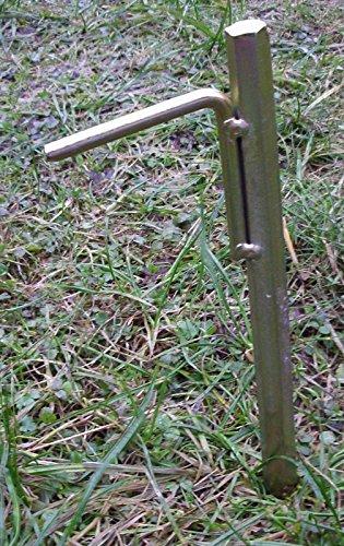 Preisvergleich Produktbild 8 Stück 30cm extrem stabile Zelthering Bodenanker Erdspieße Bauanker