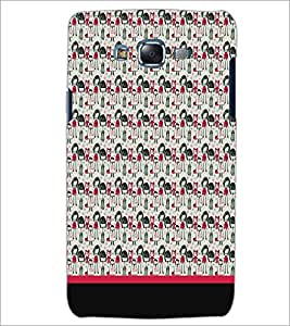PrintDhaba Pattern D-1955 Back Case Cover for SAMSUNG GALAXY J5 (Multi-Coloured)