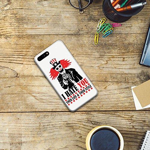 iPhone 7 Plus Hülle, WoowCase Handyhülle Silikon für [ iPhone 7 Plus ] Buddha Handytasche Handy Cover Case Schutzhülle Flexible TPU - Transparent Housse Gel iPhone 7 Plus Transparent D0195