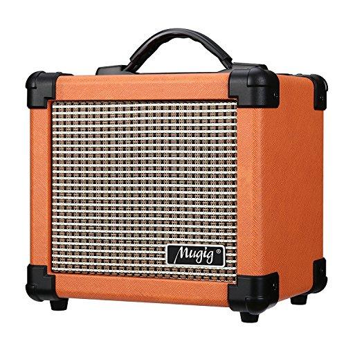 MugigGitarrenverstärkerE-Gitarre10WMiniAmpmitGriffTragbarerVerstärker (Amp-bass-gitarre)
