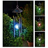 Best Wind Chimes - Solalite Colour Changing Solar Powered Wind Chime Light Review