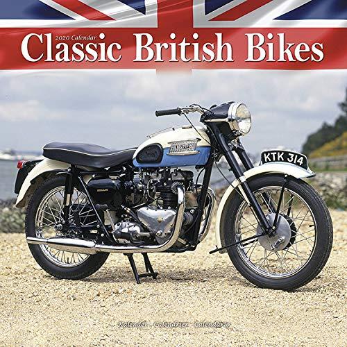 Classic British Motorbikes - Britische Motorrad-Oldtimer 2020: Original Avonside-Kalender [Mehrsprachig] [Kalender] (Wall-Kalender)