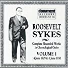 Complete Recorded Works In Chronological Order, Vol. 1, 1929-1930 by Roosevelt Sykes (1994-06-02)
