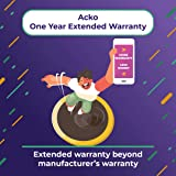 Acko 1 Year Extended Warranty for Washing Machine, Refrigerator, Dishwasher & Camera from Rs-10,000 to Rs-20,000 (Email…