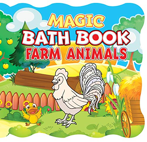 Magic Bath Book  - Farm Animals