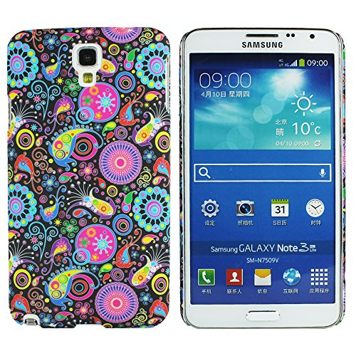 Heartly Aztec Tribal Art Printed Design Retro Color Armor Hard Bumper Back Case Cover For Samsung Galaxy Note 3 Neo N7500 N7505 - Multicolor Black  available at amazon for Rs.149