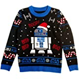 Musterbrand - Jersey de punto Star Wars R2D2 Ugly Christmas