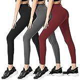 Leggings de Yoga Doux Taille Haute pour à Taille Haute Leggings Pantalons Slim Confortables Femmes Pantalons.