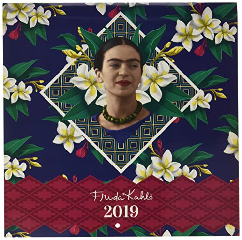 Calendario2019-12 láminas 30x30 Cm Frida