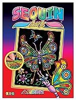 Junior Sequin Art Butterfly
