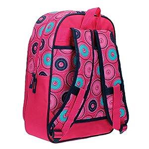 61Gg3E4ZCdL. SS300  - Movom 5292351 Circles Mochila Escolar, 15.6 litros, Color Rosa