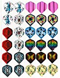Brand New 10 Sets (30 pcs) of Darts 2D and Aluminium Flights Assorted Wholesale