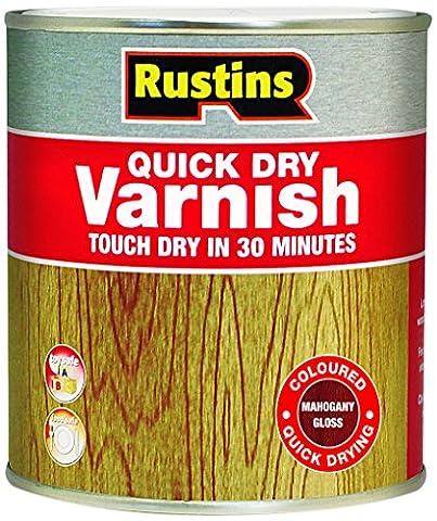 Rustins vgma25002.5L Quick Dry Lack glänzend–Mahagoni