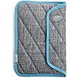 Timbuk2 - Plush - Housse pour tablettes 7 pouces en mousse à mémoire de forme, Gris/bleu
