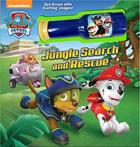 Paw Patrol: Jungle Search and Rescue: Storybook with Spyscope Viewer (Nickelodeon Paw Patrol) por MacKenzie Buckley