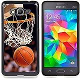 Graphic4You Baloncesto deportes rosquilla Carcasa Funda Rigida para Samsung Galaxy Grand Prime