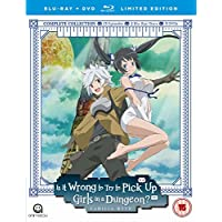 Is It Wrong To Try To Pick Up Girls In A Dungeon? Complete Season 1 - Collector's Edition