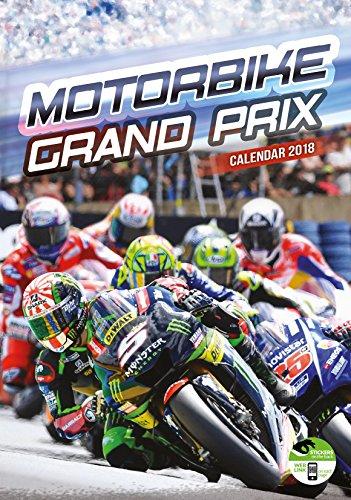 Imagicom imacal240Motorbike Grand Prix Wall Calendar, Paper, Red, 0.1X 30.5X 42.5Cm