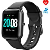 LIFEBEE Smartwatch Orologio Fitness Tracker Uomo Donna, Bluetooth Smart Watch Cardiofrequenzimetro da Polso Schermo…